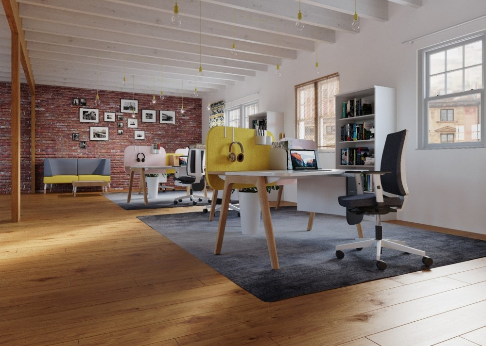 Flexible Büroräume für das digitale Zeitalter