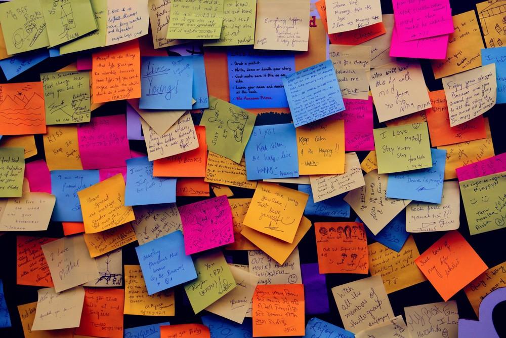 Sortieren statt resignieren: Zettel gegen das äußere Chaos