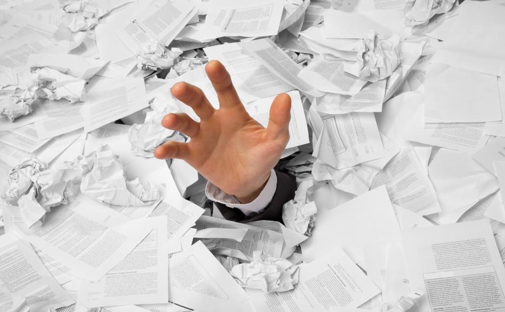 Papierflut