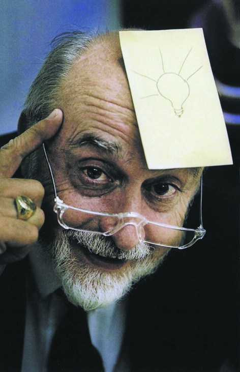 Post-it-Erfinder Arthur Fry kam die Idee zu den Haftnotizen beim Singen in der Kirche. Foto: 3M