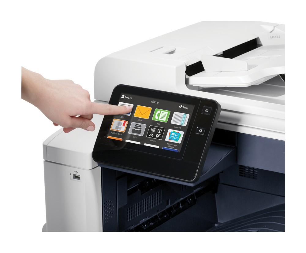Aktuelle Multifunktionsgeräte ermöglichen unter anderem das Drucken aus der Cloud,  sowie individuelle Kopier-, Sicherheits- und Ausgabeeinstellungen. Abbildung: Xerox