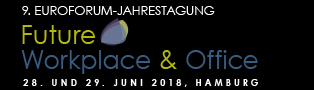 Future Workplace & Office, 28. und 29. Juni 2018, Hamburg