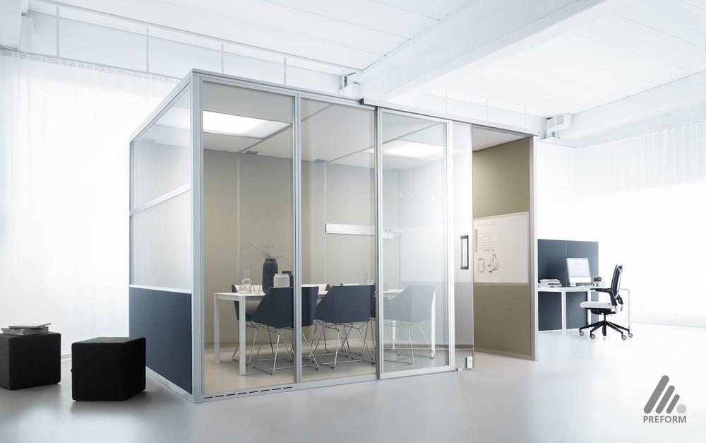Decato dp50volume: Modulares Kabinensystem. Design Nicole Liebrich.