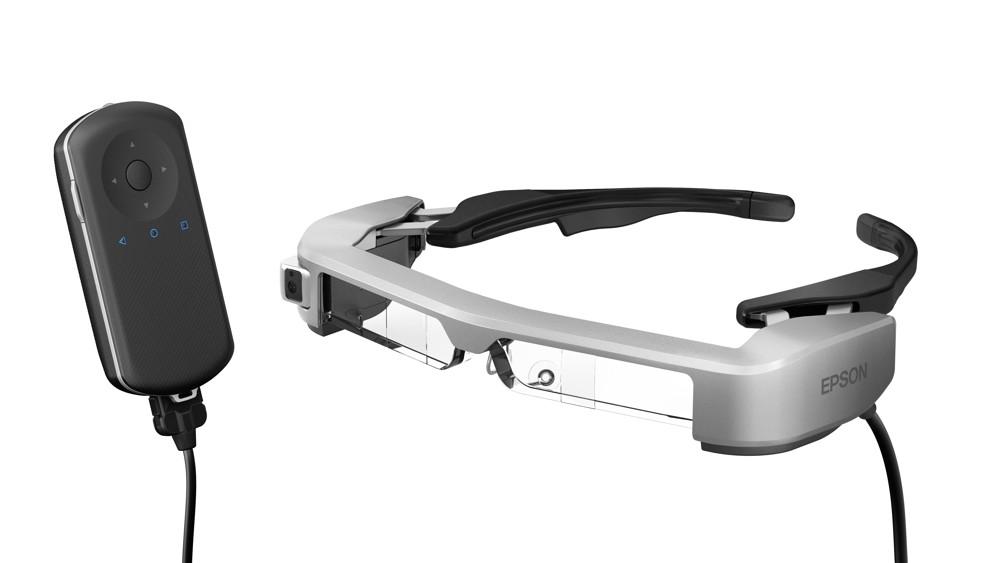 AR-Brillen von Epson (links) und Lenovo.