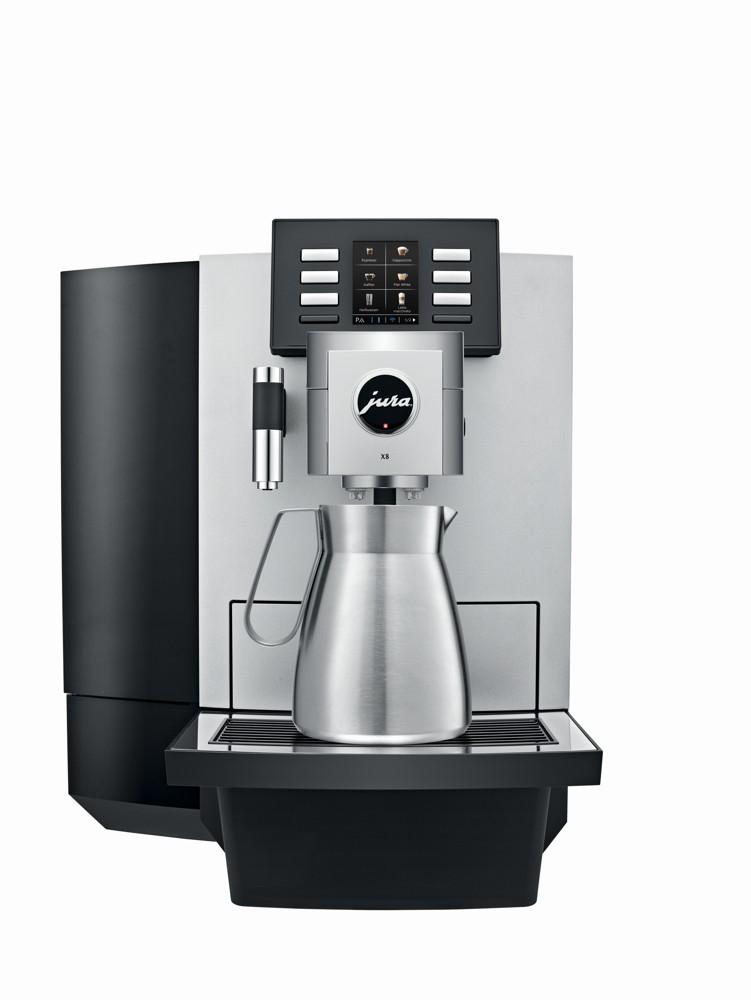 JURA X8 coffeepot