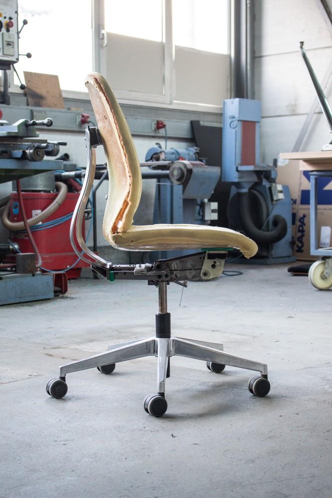 63 Gussformen und Werkzeuge wurden für die Herstellung der Einzelteile entwickelt, um höchste Form- und Passschlüssigkeit zu erreichen.
