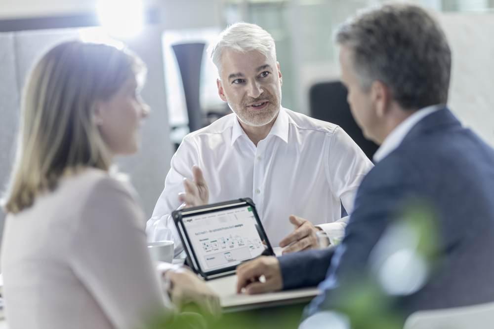 Die Online-Drucklösung Smartpro von SIGEL, mit der sich Bestellungen von Geschäftsdrucksachen und Werbemittel einfach und effizient aufgeben lassen. Abbildung: SIGEL