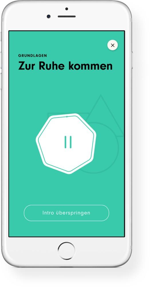Die App 7Mind. Abbildung: 7Mind