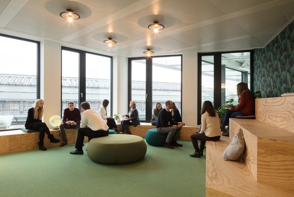 Das vielfältige Bürokonzept von HRS