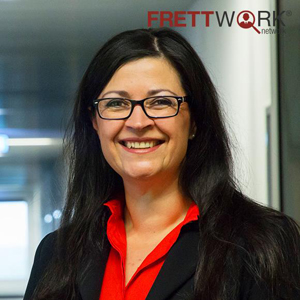 Die Personalmanagerin Barbara Frett argumentiert für das Konzept Home-Office.