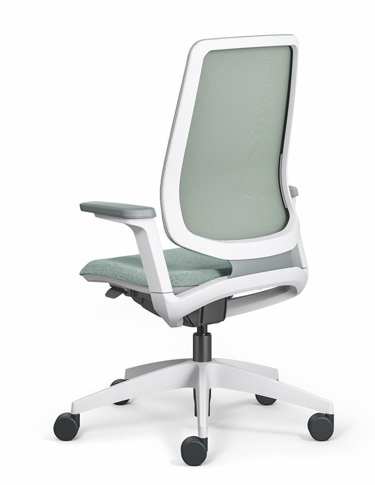 Halle 8: Stuhl se:flex von Sedus. Abbildung: Sedus