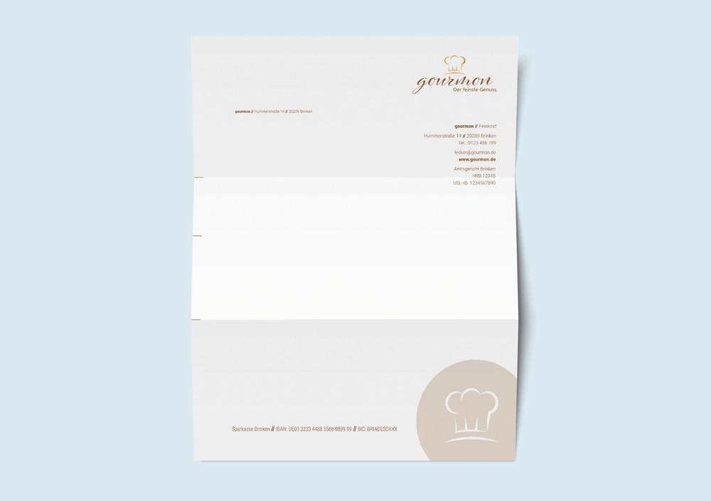 Geschäftsbriefpapier