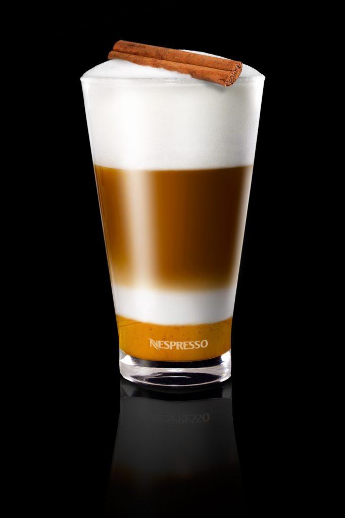 Ingwer-Zimt-Kaffee von Nespresso. Abbildung: Nespresso