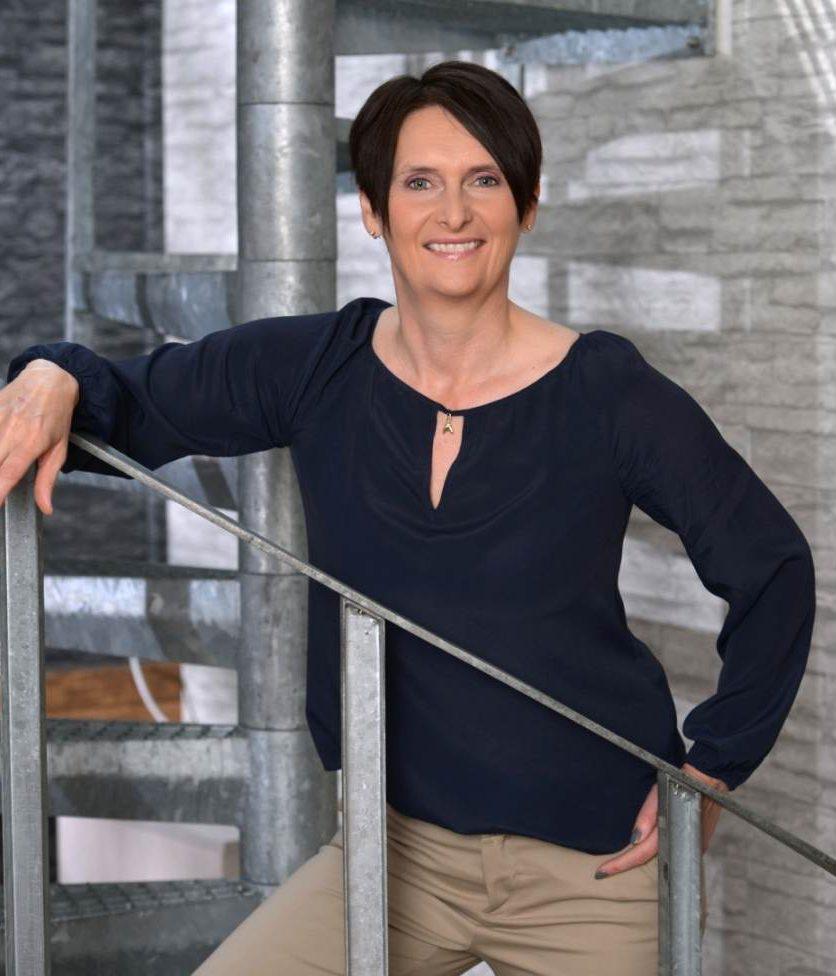 Die Rednerin, Motivations- und Kooperationsberaterin Ulrike Stahl. Abbildung: Petra Fischer