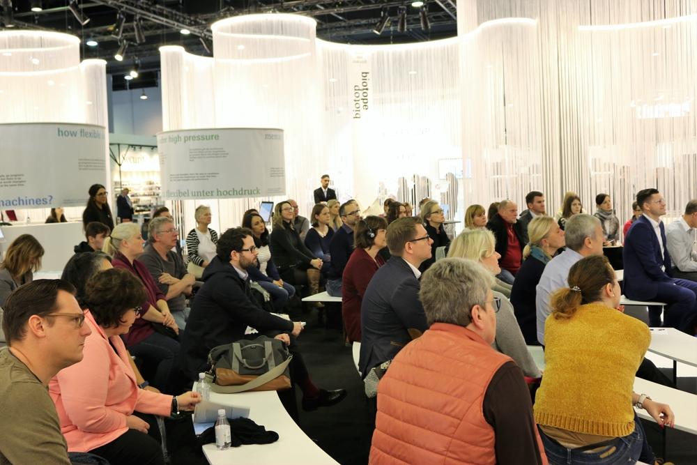 Die Veranstaltung galt als Fortbildungsmaßnahme für Quality-Office-Berater und Architekten.