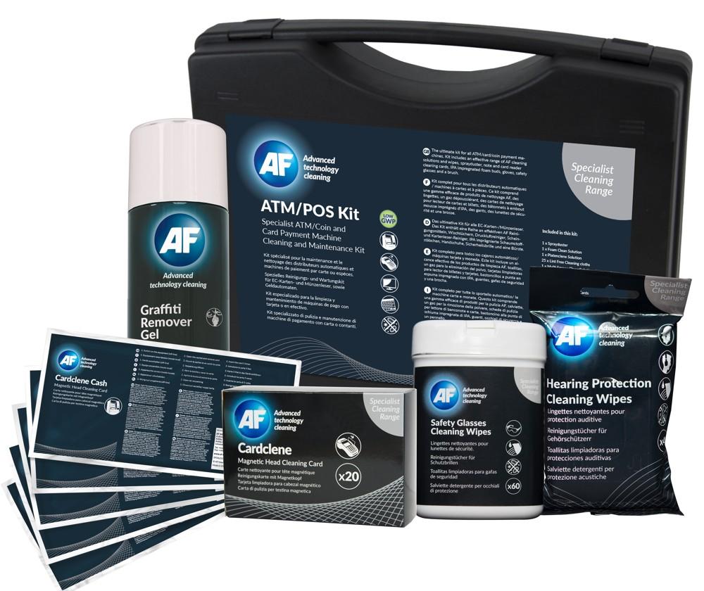 Falls die Oberflächen empfindlich sind, steht mit der Specialist Cleaning Range von AF International die passende Reinigungsserie zur Verfügung. Abbildung: AF International