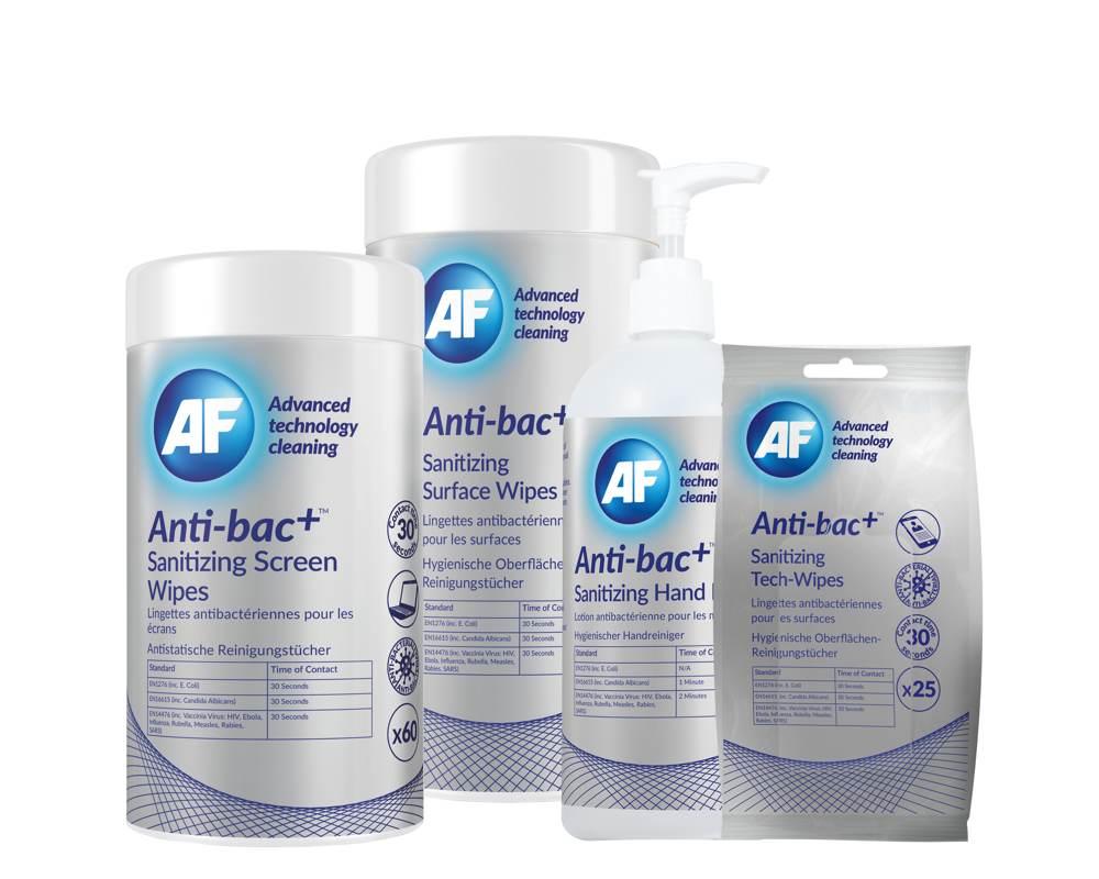 Wirkt schon nach 30 Sekunden: der Anti-bac+. Abbildung: AF International