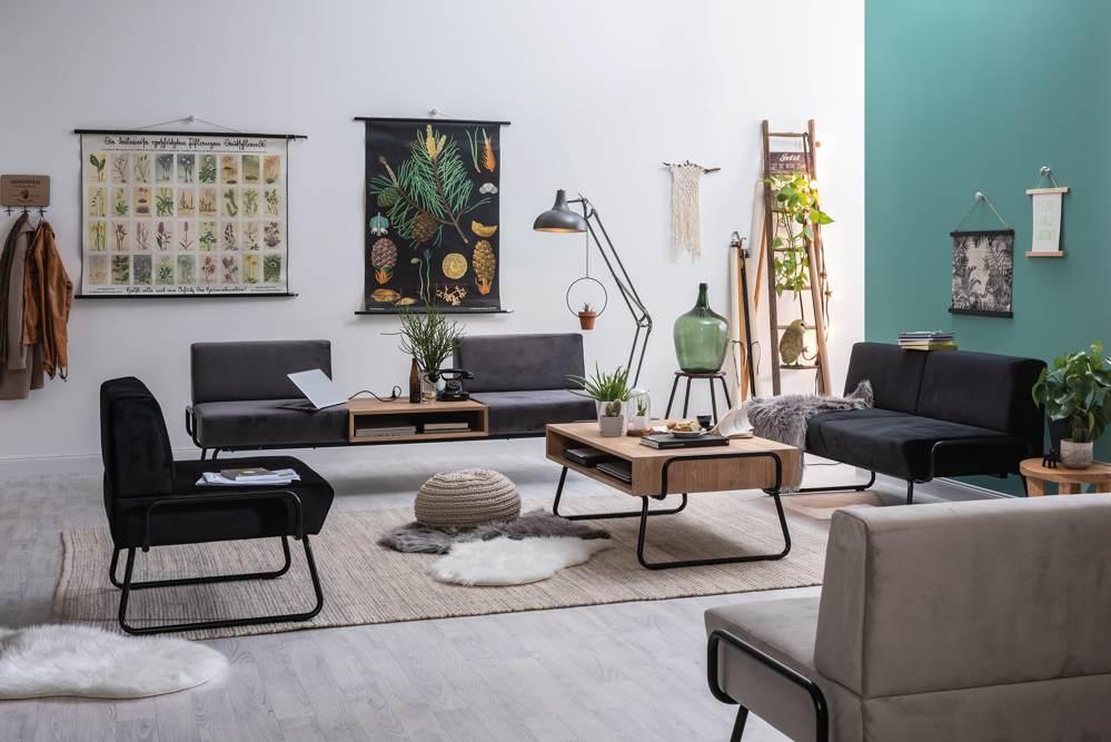 Die Blogger Sofas vereinen modernes Design und Bequemlichkeit. Abbildung: SMV