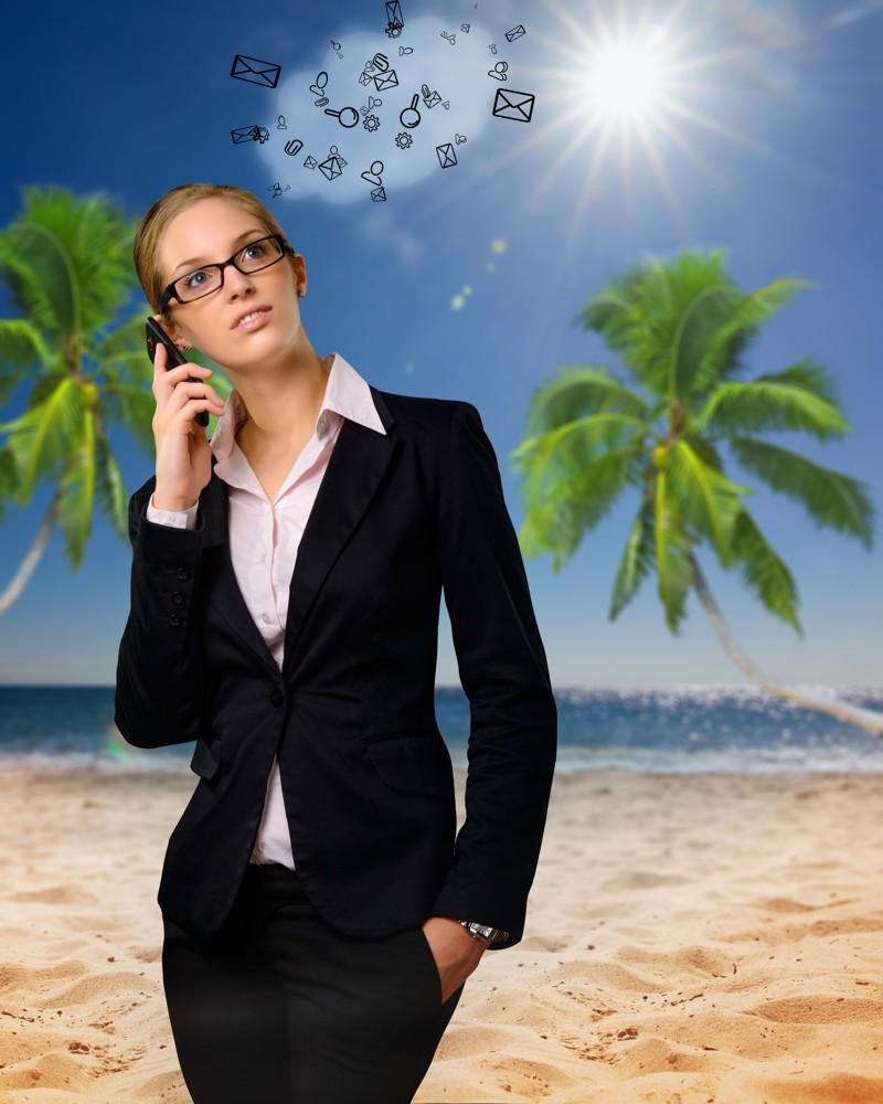 Remote-Arbeit im Ausland