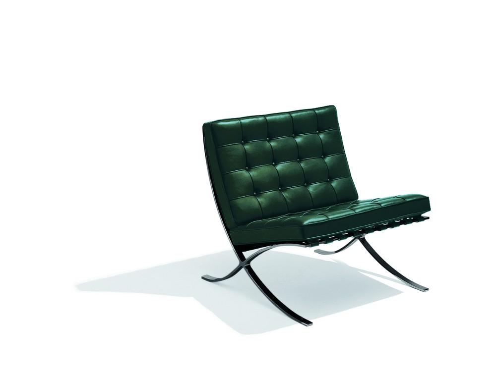 Der Barcelona-Sessel von Ludwig Mies van der Rohe (1929).    Abbildung: Tecta