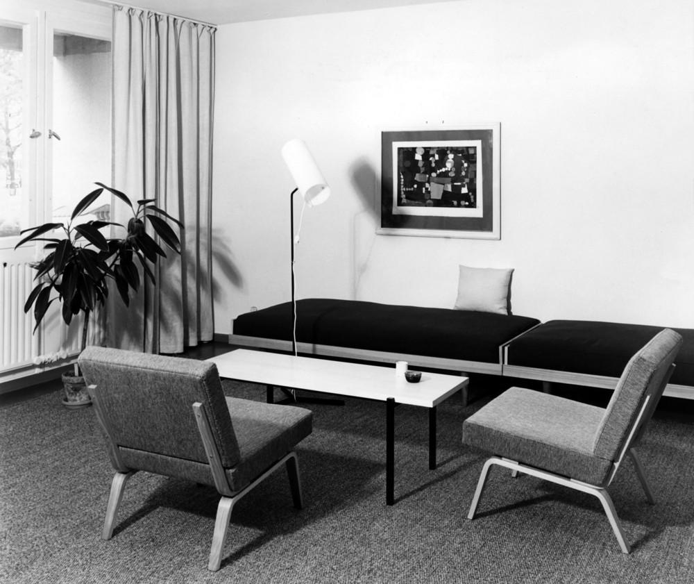 Möbel von Herbert Hirche für Wilkhahn.  Abbildung: Wilkhahn