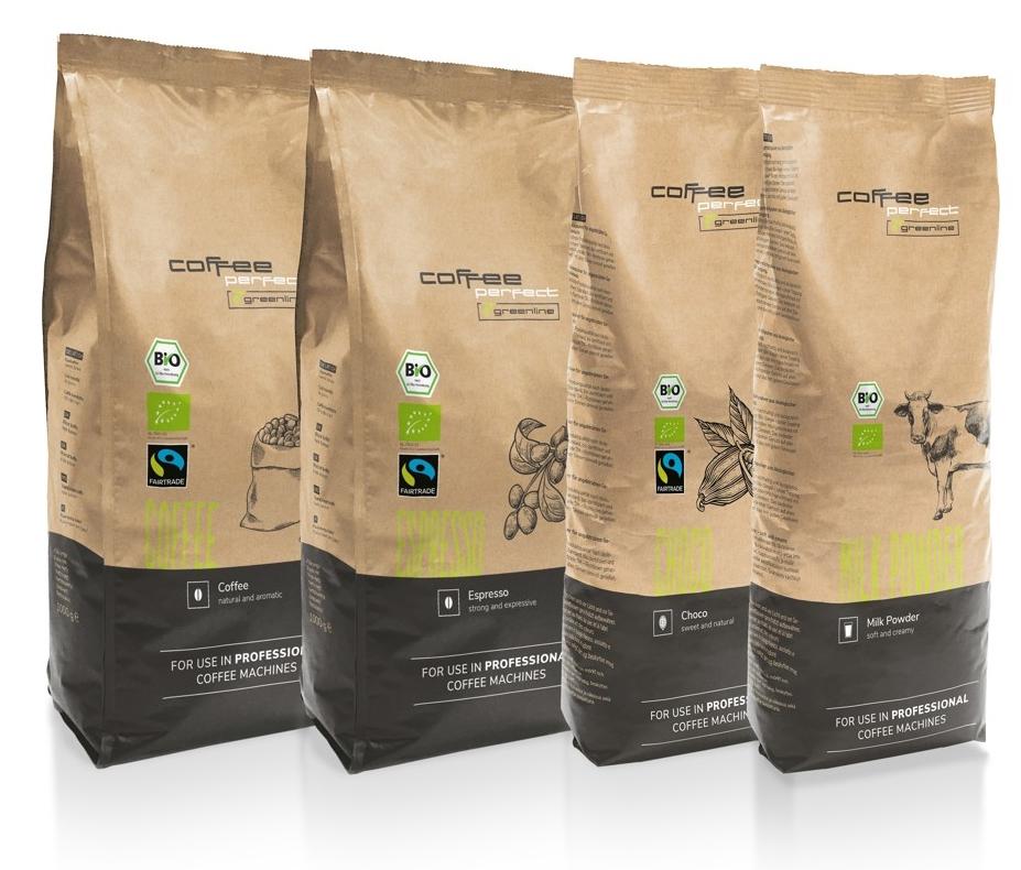 Greenline von coffee perfect.