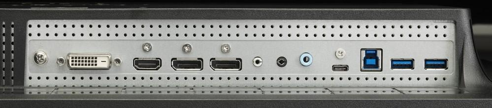 Die größten Unterschiede werden bei der Ausstattung der Ein- und Ausgänge deutlich (hier NEC).