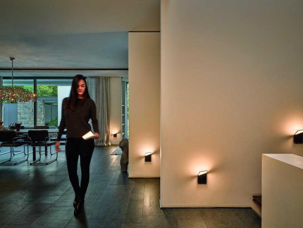 Stimmungsvolles Licht, das im Handumdrehen angebracht werden kann: die Winglet CL. Abbildung: Frank Ockert