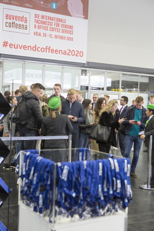 Insgesamt besuchten rund 4.200 Fachbesucher aus 66 Ländern die Messe. Abbildung: Koelnmesse GmbH