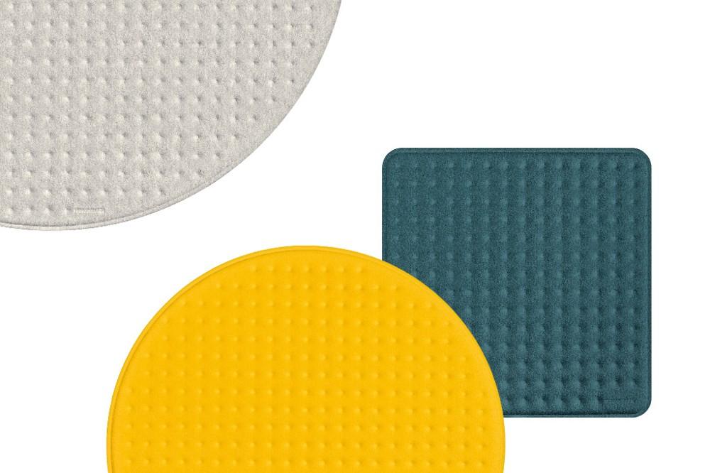 Rossoacoustic Pads sind in verschiedenen Formen und Farben einsetzbar. Foto: Nimbus Group / Frank Ockert