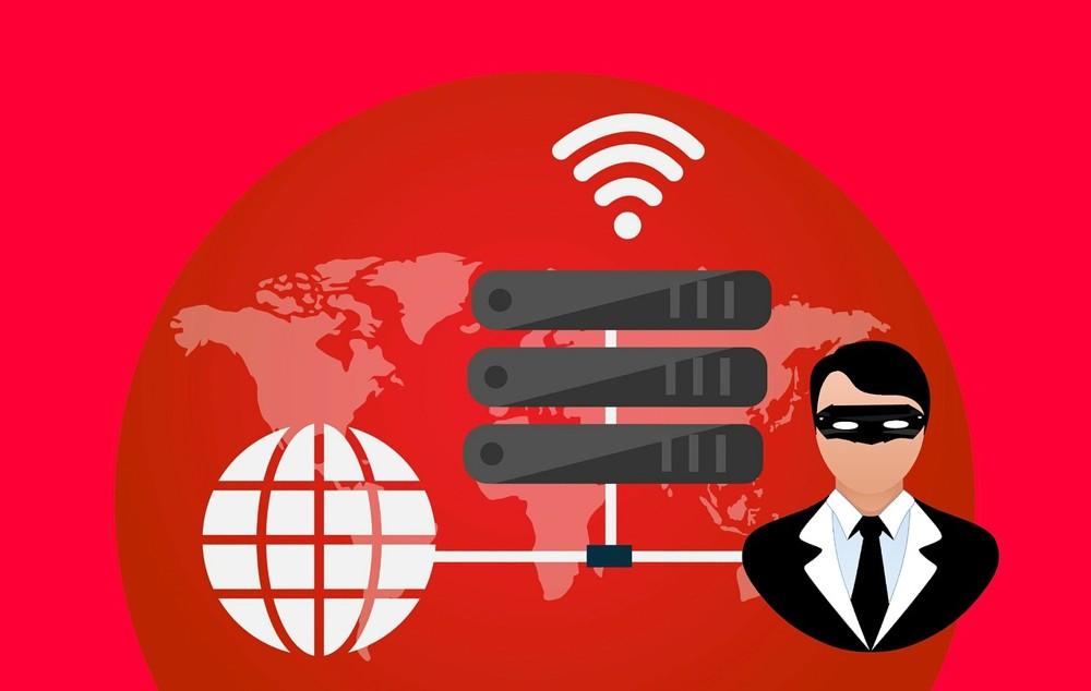 Durch ein VPN (virtuelles privates Netzwerk) können Daten anonym und verschlüsselt übertragen werden. Abbildung: Pixabay