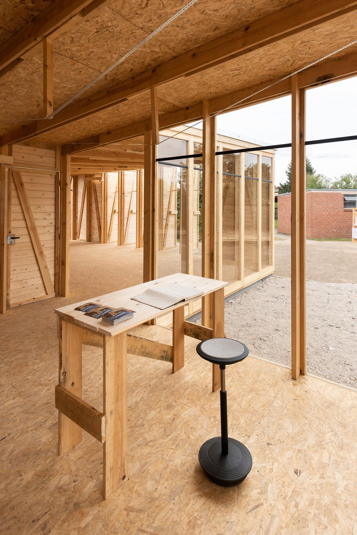 Freiraum für gute Ideen im Hilberseimer-Haus in Dessau. Abbildung: Christoph Petras