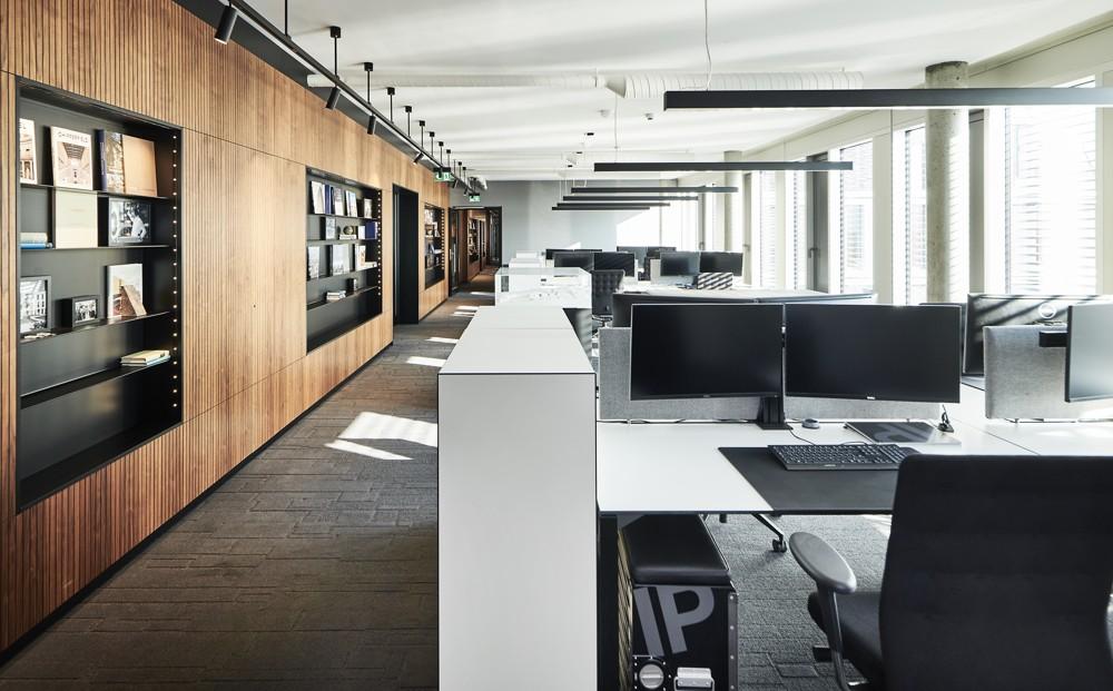 Offenes Bürokonzept für agiles Arbeiten