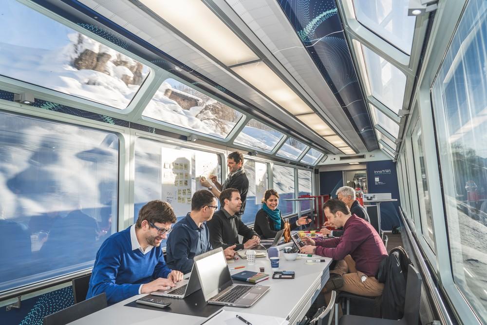Coworking im Zug: der InnoTren.