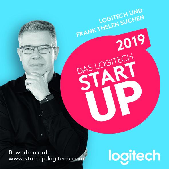 Bereits zum zweiten Mal suchen Investor Frank Thelen und Logitech den Start-up-Partner. Abbildung: Logitech