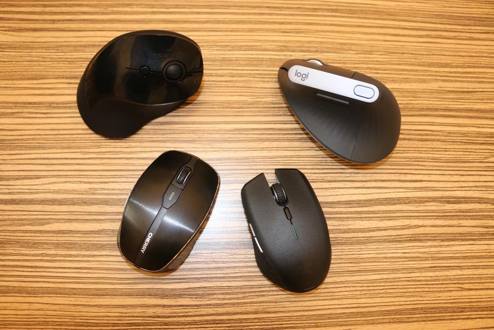 vier Mäuse im Test