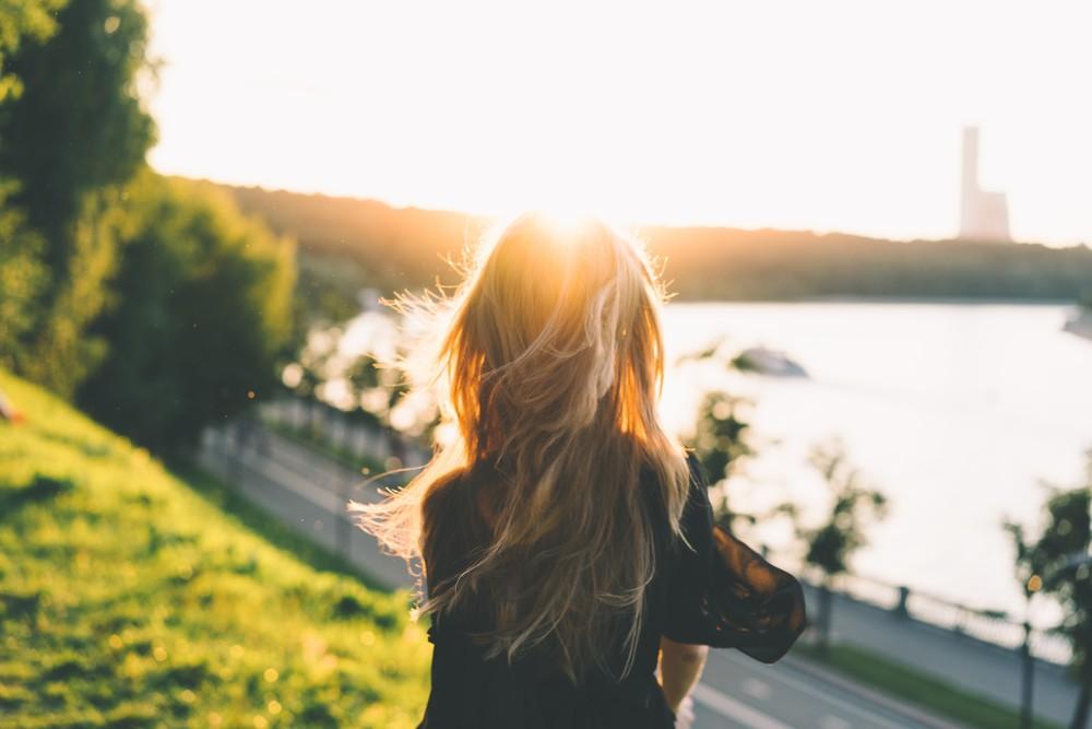 strahlender Sonnenschein