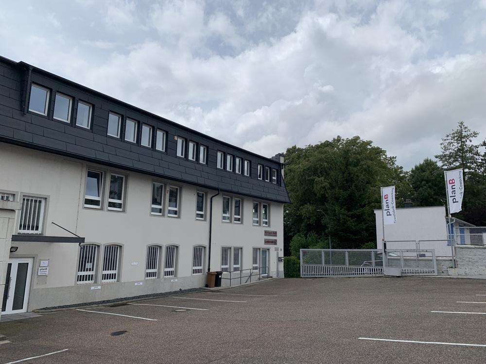 Früher Schuhfabrik, heute Coworking-Space. Abbildung: planB