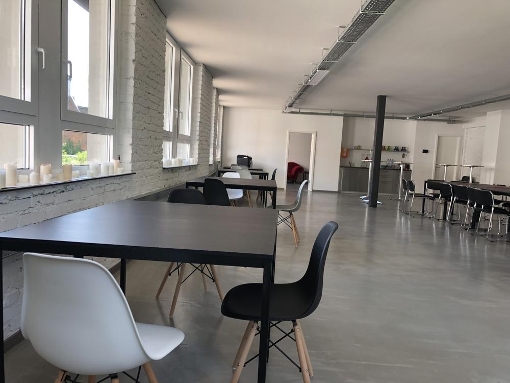 Flexible Räume für agile Zusammenarbeit. Abbildung: planB