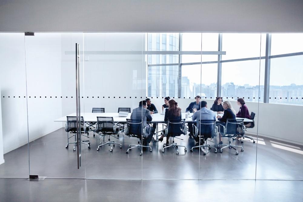 Klassische Meetings gehören vielleicht bald der Vergangenheit an. Abbildung: Fuze