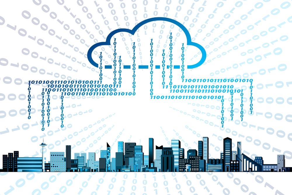Die Daten-Cloud wird für Unternehmen immer verlockender. Abbildung: pixabay