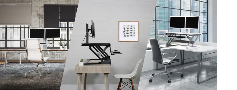 Ergotron Sitz-Steh-Schreibtisch-Wandler