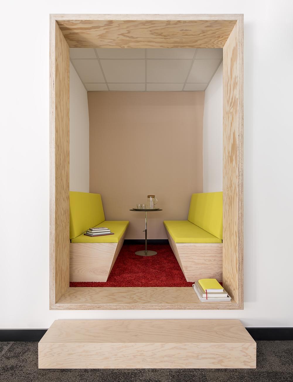 """Setzen sich Ruheinseln durch? Die Jahrestagung """"Future Office 2019"""" gibt Antworten. Abbildung: Management Forum Starnberg"""