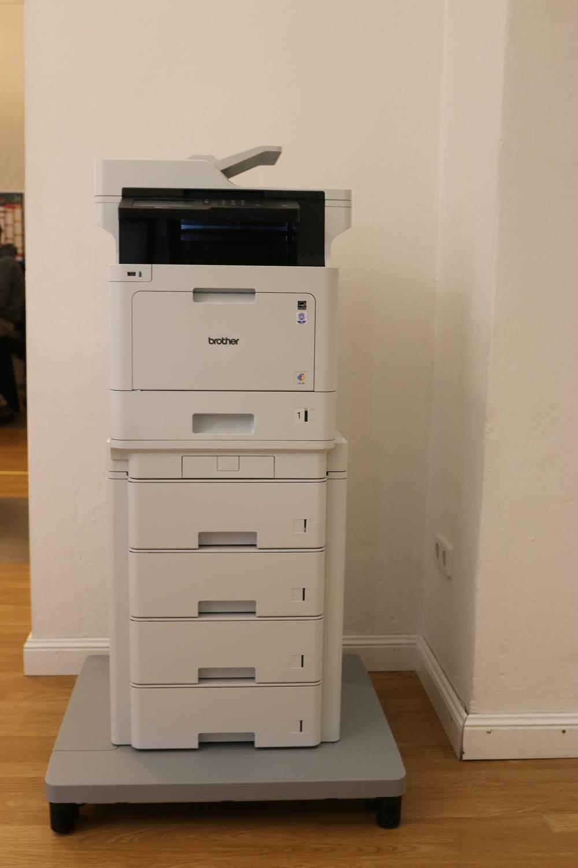 Multifunktionsdrucker sind beliebt. Das MFC-L8900CDW von Brother kann (fast) alles.