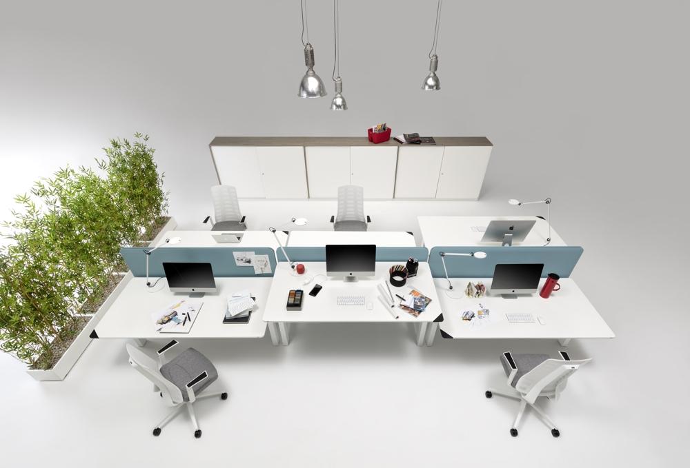 Attraktive und ergonomische Büroarbeitsplätze lassen sich auch leasen und mieten. Abbildung: WINI Büromöbel