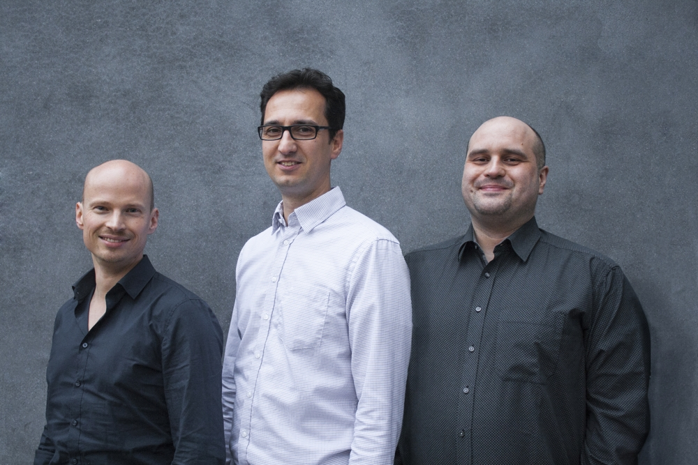 Die Gründer (v. l. n. r.): Dr. Daniel Lehmann, Mario Körösi, Alexander Stinka. Abbildung: Corant GmbH