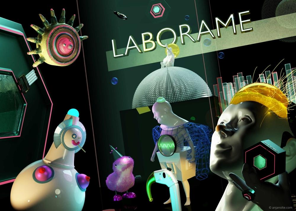 Die VR-Lösung Laborame im Einsatz. Abbildung: Anja Nolte