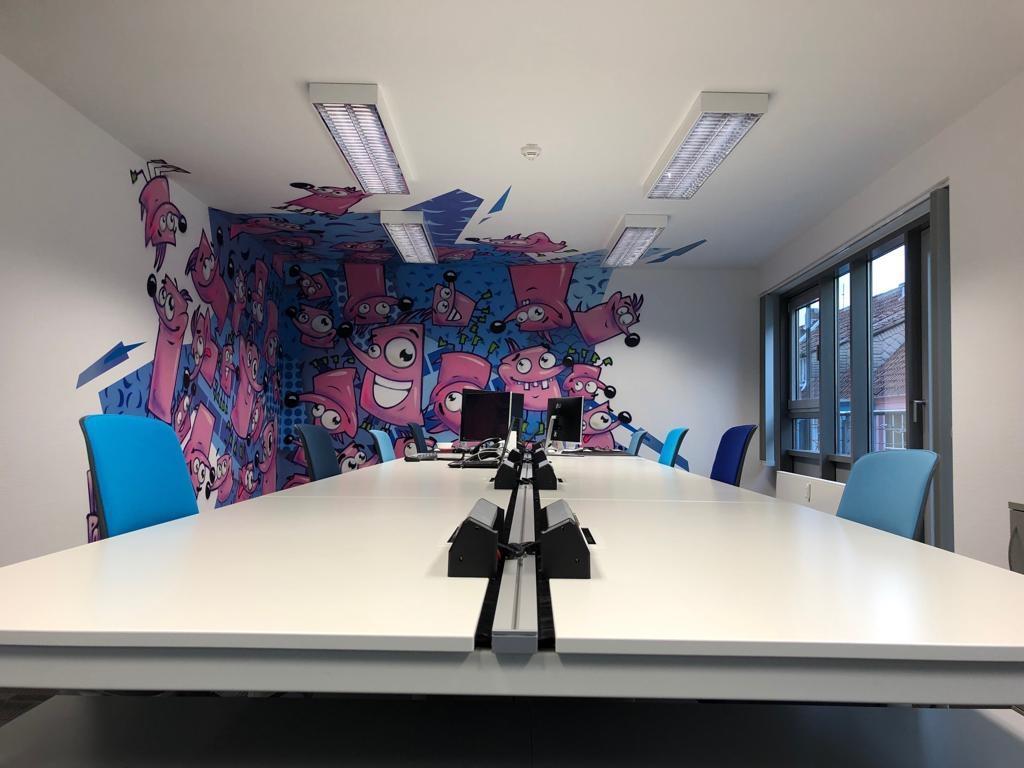 Ideal für bunte Meetings. Abbildung: BLUEWorking