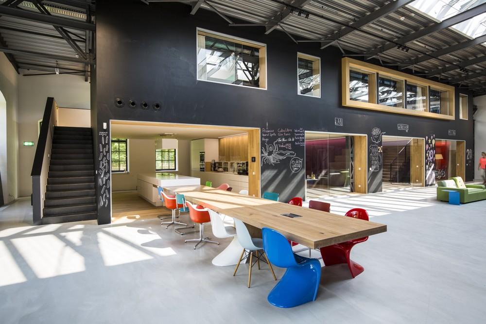 Innenarchitektur und Bürokonzept: CSMM – architecture matters. Abbildung: Christian Krinninger
