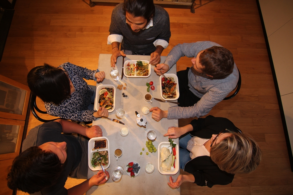 Da ist für jeden was dabei: klassisch, vegetarisch oder vegan. Abbildung: Smunch